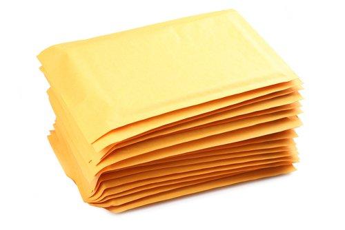 Several manilla envelopes stacked