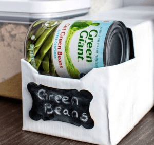 Storing your cans (and keeping them organized) has never been easier