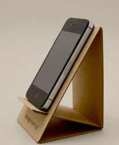 You'll never have to hold your cell phone again with this handy cell phone stand