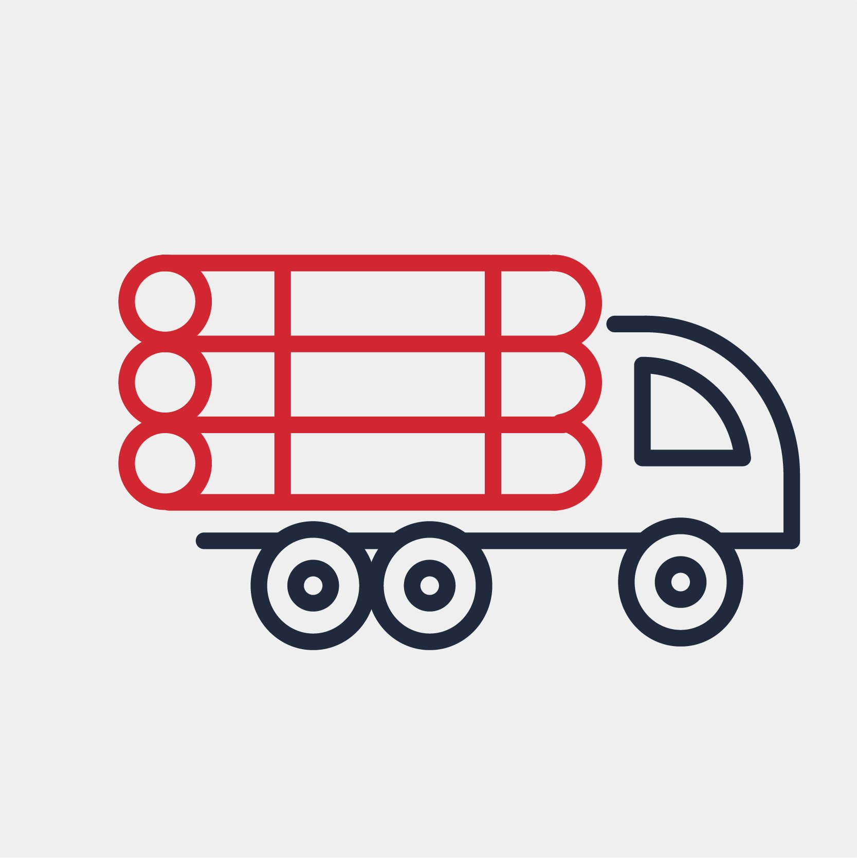 trucking-line-icon