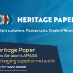 Heritage Paper joins Amazon's APASS packaging supplier network